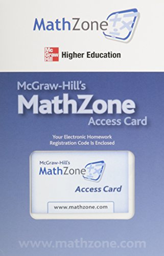 MathZone Access Card for Calculus