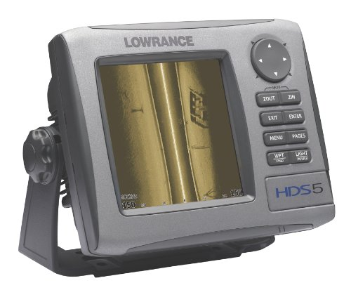 Fish finder gps combo lowrance hds 5 5 inch waterproof for Fish finder with gps