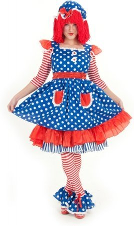 Raggedy Ann Deluxe Adult Costume - Adult Costumes