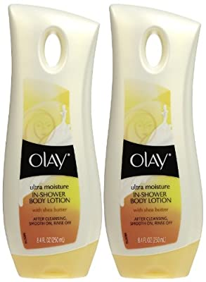 Olay Moisture In Shower Body Lotion - Shea Butter - 8.4 oz - 2 pk