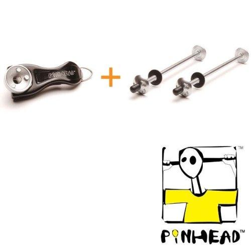 エバニュー(EVERNEW) PiNHEAD(ピンヘッド) 自転車用セキュリティグッズ 2-PACK WPH110 932531