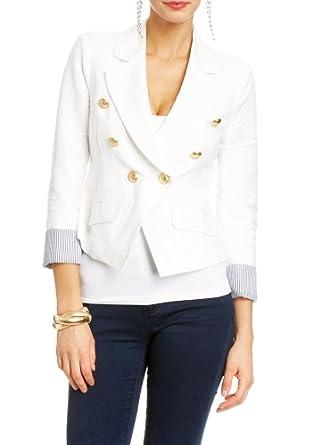 2B Double Breasted Jacket 2b Jackets White-xl