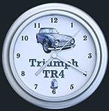 Triumph TR4 Classic Car Wall Clock