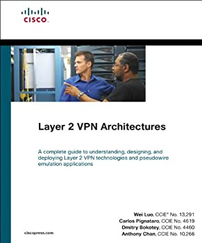 layer 2 vpn architectures - wei luo. carlos pignataro. anthony chan and dmitry bokotey
