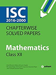 ISC Chapterwise Solved Papers MATHEMATICS class 12th