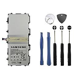 BinTEK Samsung Galaxy Tab 10.1/Galaxy Note 10.1 7000mAH Li-Polymer Premium Battery with Opening Repair Tool Kit / Compatible with Model P5100 P5110 P7500 P7510 N8000 N8010 N8013