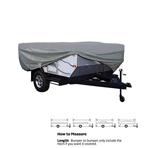 SavvyCraft Waterproof Pop Up Folding Camper Tent Trailer Storage Cover fits 12'-14'L (Pop Up Camper Trailer Part compare prices)