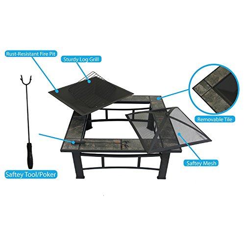Clevr-33-Metal-Fire-Pit-Table-Backyard-Patio-Garden-Bon-Heater-Firepit