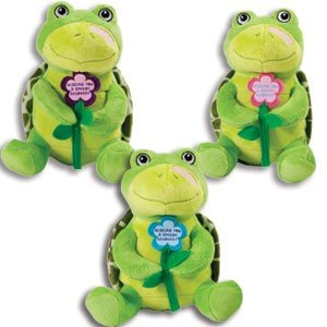 """Adorable Speedy Recovery Plush Turtle - Get Well Soon- Gift For Sick Or Hospitalized Patients/9"""" Stuffed Animal -Cheer Hospital"""