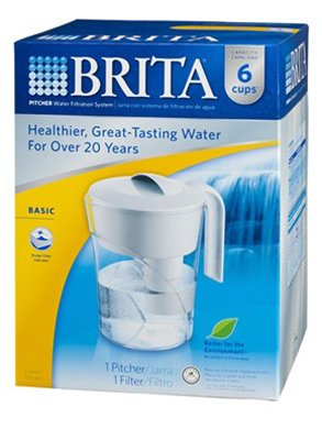 CLO35564 - Classic Water Filter Pitcher (Brita 48 Oz compare prices)