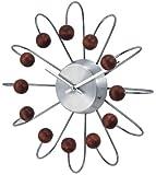 Telechron 1820WALNUT Wooden Atomic Clock
