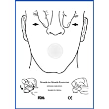 First Voice CPR-FS50 CPR Training Face Shield (Pack of 50)