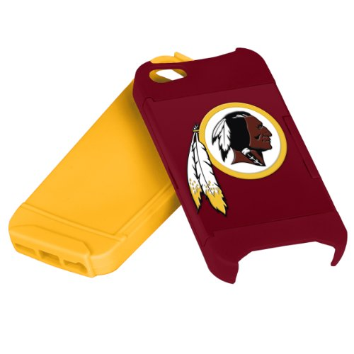 Forever Collectibles Nfl Hideaway Credit Card Iphone 5 Hard Case - Retail Packaging - Washington Redskins