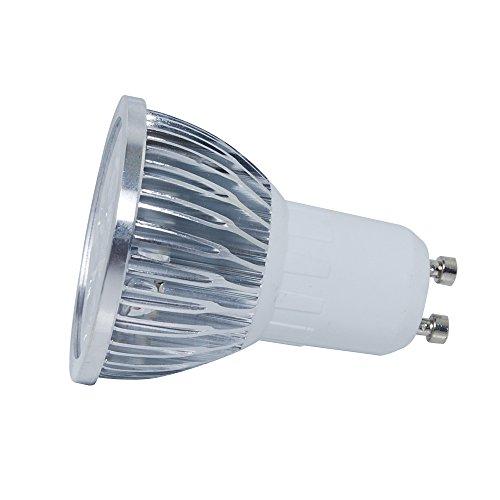 Thg 10Pcs Gu10 Warm White 100-240V Led Energy Saving 4W Ce Rohs Bulb Lamps Spot Lights Lighting For Display Artwork Landscape Scene Spot Lighting