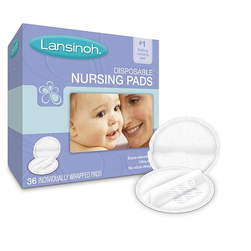 Lansinoh Disposable Breast Pads 36 Ea