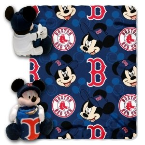 Boston Red Sox Disney Hugger Blanket by Hall of Fame Memorabilia