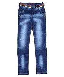 DUC Boy's Denim Dark Blue Jeans (kd02-db-36)