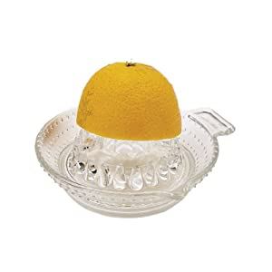 Masterclass Glass Lemon Squeezer