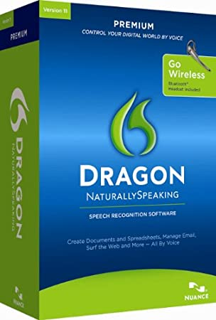 Dragon NaturallySpeaking Premium 11 Bluetooth