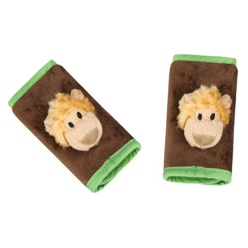 Animal Planet 2 Count Strap Covers, Lion