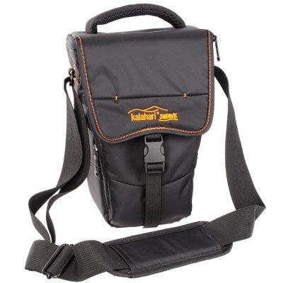 Kalahari SWAVE S46 Camera Holster Bag for DSLR with Long Lens Black