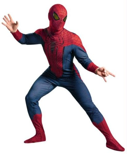 Costumes For All Occasions DG42499D Spider-Man Movie Deluxe Adult