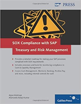 Impact of Sox Compliance for Treasury Controls