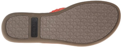 Skechers USA Women's Indulge-Earth Baby Flip Flop,Coral,10 M US