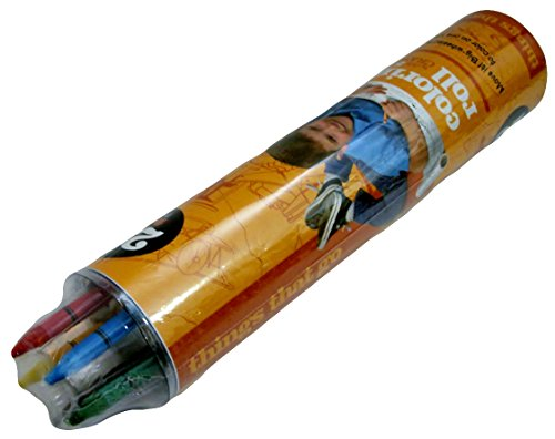 Coloring Roll with 5 Crayons - 1