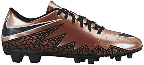 Nike Hypervenom Phade Ii Fg, Scarpe sportive, Uomo, Multicolore (Mtlc Rd Brnz/Blk-Grn Glw-White), 40.5