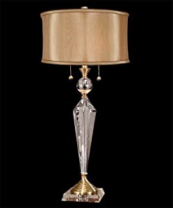 Dale Tiffany Gt701218 Strada Crystal Table Lamp Antique