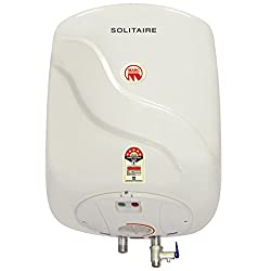 Marc 15 Solitaire Water Heater 15 L Vertical Storage Geyser Ivory