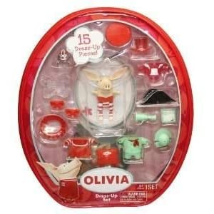 Olivia Figure Set With Vinyl Bag - Styles May Vary