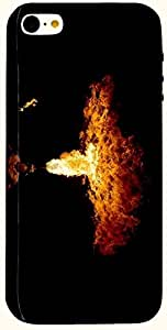 Brilliant multicolor printed protective REBEL mobile back cover for iPhone 5 D.No.N-L-10744-IP5