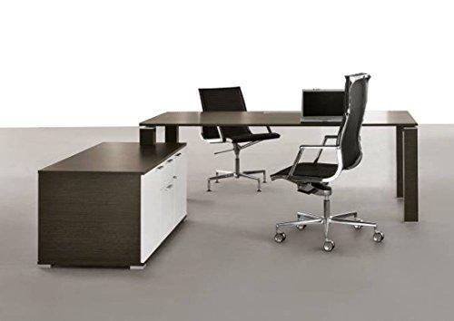 Design-Chef-Schreibtisch-JET-mit-Sideboard-Chefschreibtisch-Arbeitszimmer-Broeinrichtung