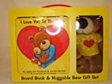 I Love You All the Time Board Book & Huggable Bear Gift Set