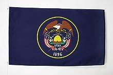 BANDERA de UTAH 150x90cm - BANDERA AMERICANA DE UTAH - EE.UU 90 x 150 cm - AZ FLAG