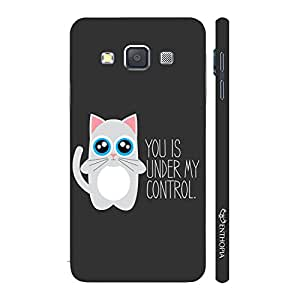 Enthopia Designer Hardshell Case Under My Control Back Cover for Samsung Galaxy A7 2015