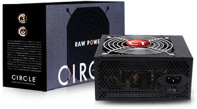 Circle APFC 500 Watts PSU (SMPS) For Gaming Cabinet And Server Best ...