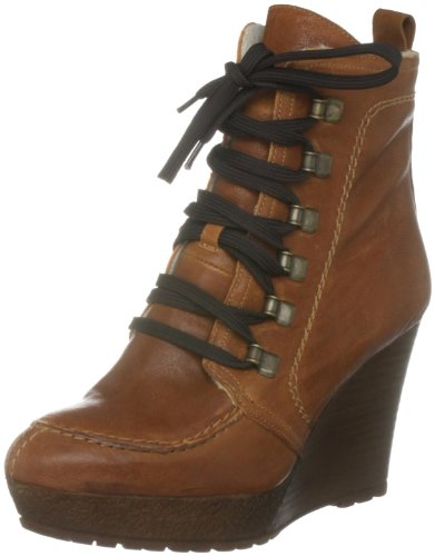 Carvela Women's Sasha Tan Wedges Boots 2327633109 7 UK