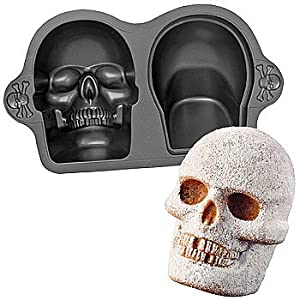 Wilton D Skull Cake Pan Uk