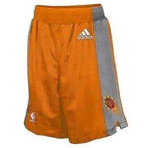 Phoenix Suns NBA Basketball Youth Alternate Shorts Orange by adidas
