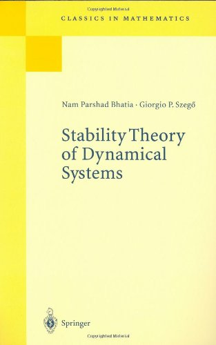 Stability Theory Of Dynamical Systems (Classics In Mathematics)