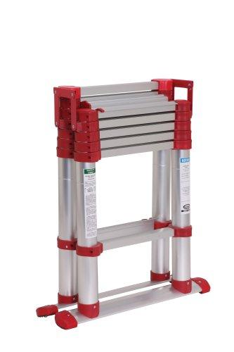 Telescoping Step Ladder : Xtend climb sl telescoping aluminum step ladder type