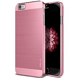 iPhone 6S Case, OBLIQ [Slim Meta][Metallic Pink] Premium Slim Fit Thin Armor All-Around Shock Resistant Polycarbonate Metallic Case for Apple iPhone 6S (2015) & iPhone 6 (2014)