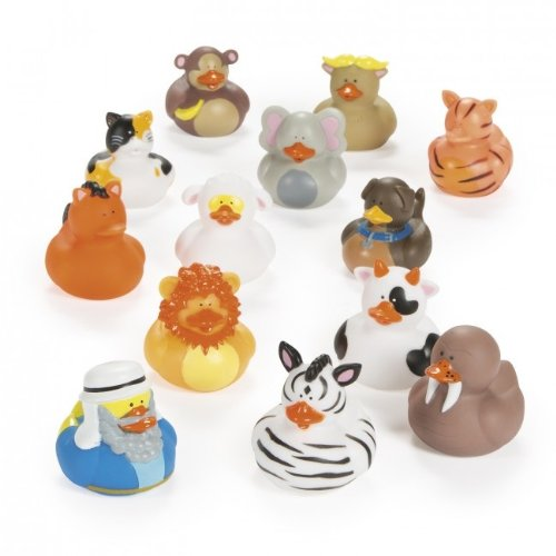 Noah's Ark Rubber Ducks - 25 pc set