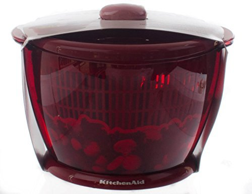 Kitchenaid Classic Salad Amp Fruit Spinner Red Home Garden