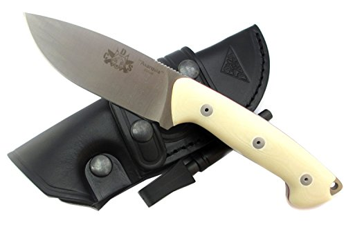 Axarquia White Premium Outdoor Survival Hunting Knife