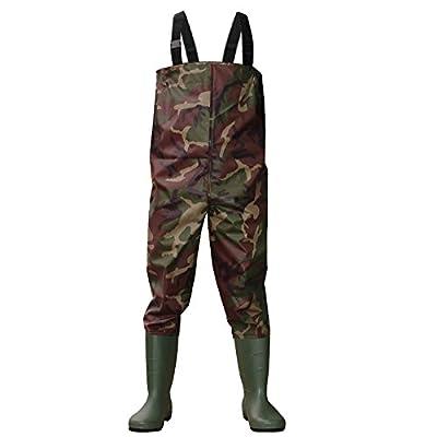 Dirt Boot Camo Nylon Chest Waders 100% Waterproof Fly Coarse Fishing Muck Wader