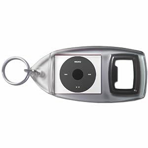 iPod Black - Botella plástica del anillo dominante del abrelatas